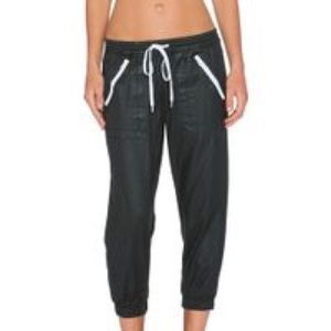 DWP brandy crop jogger in hydro gloss